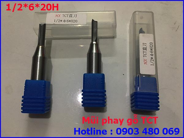 Mũi Router TCT 1/2*6*20H