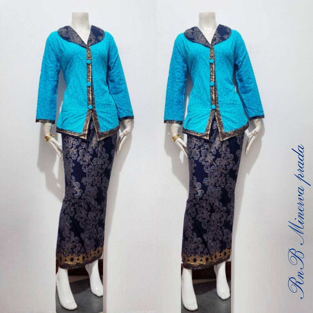 Baju Setelan Batik Wanita: Baju Batik Wnita Setelan Minerva Prodo