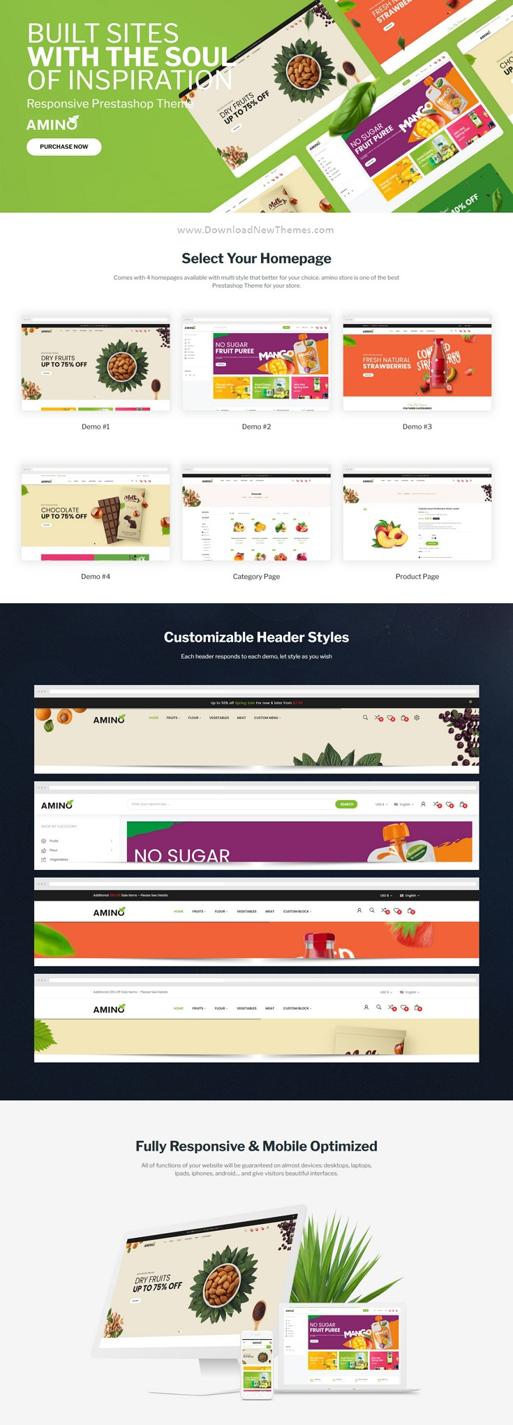 Organic and Multipurpose eCommerce Theme