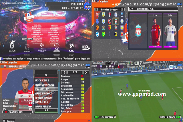 Download PES 2020 PPSSPP Chelito Special Mod Shopee Liga 1 Indonesia