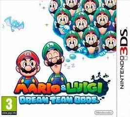 Mario y Luigi Dream Team Bros
