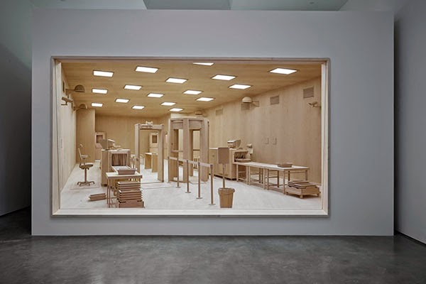 Checkpoint: Diorama by Roxy Paine