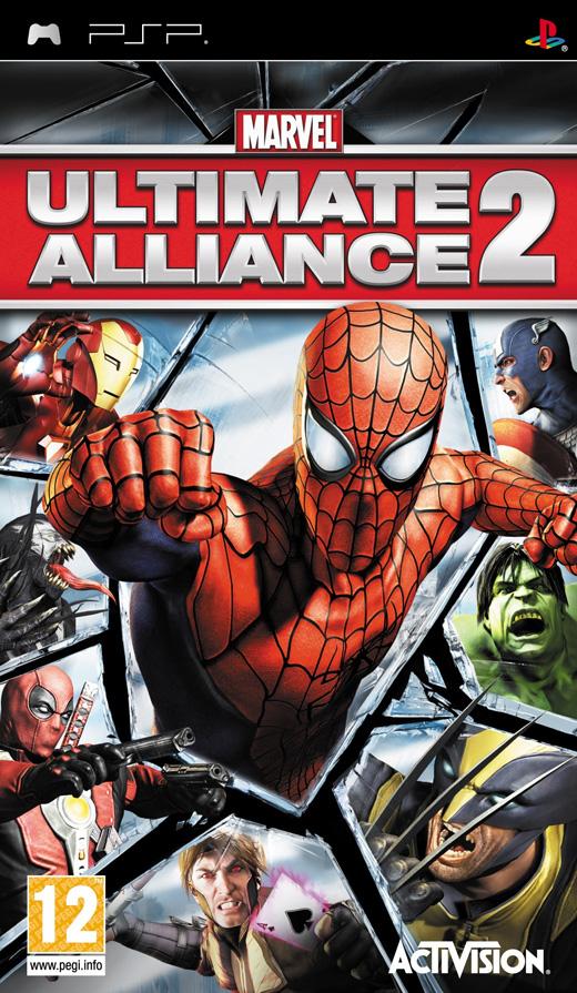 PSP Games Free Download: Marvel Ultimate Alliance 2 (PSP