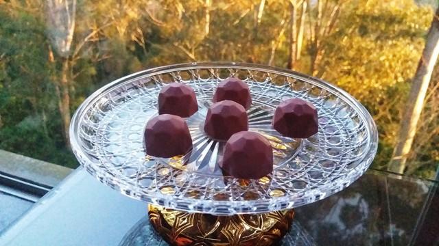Chocolate ruby no Reino do Chocolate Caracol, em Gramado, na Serra Gaúcha
