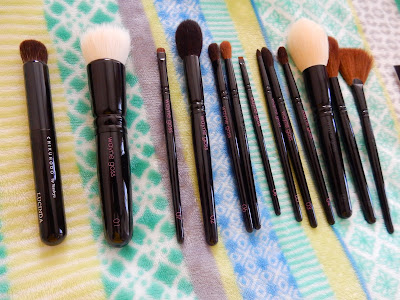 Wayne Goss and Chikuhodo brushes - www.modenmakeup.com