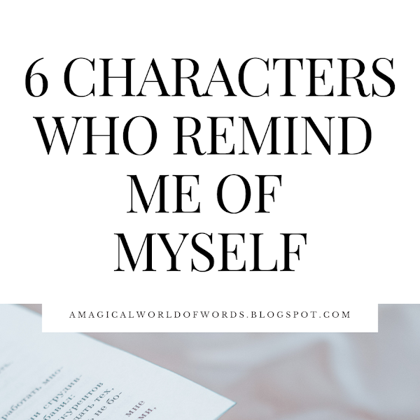 6 Characters Who Remind Me Of Myself
