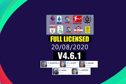 PATCH PES 2020 FULL LICENSED | IDSPHONE V4.6.1
