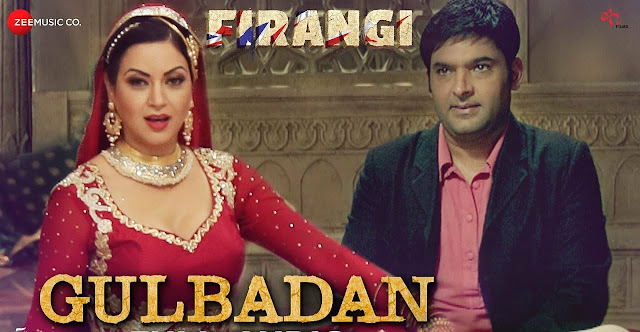 Gulbadan From Firangi: This mujra song is in  voice of Mamta Sharma picturised on Maryam Zakaria, composed by Jatinder Shah while lyrics are penned by Ashraf Ali & Krishna Bhardwaj