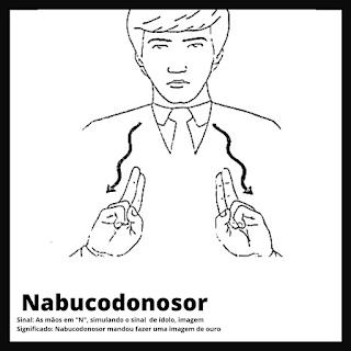 Sinal de Nabucodonosor da bíblia