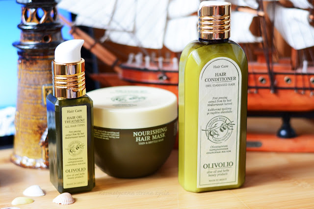 Olivolio olejek do włosów z filtrem UV, odżywka do włosów suchych, olejek do włosów