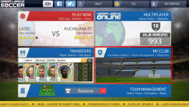 Import Kit In Dream League Soccer 2016