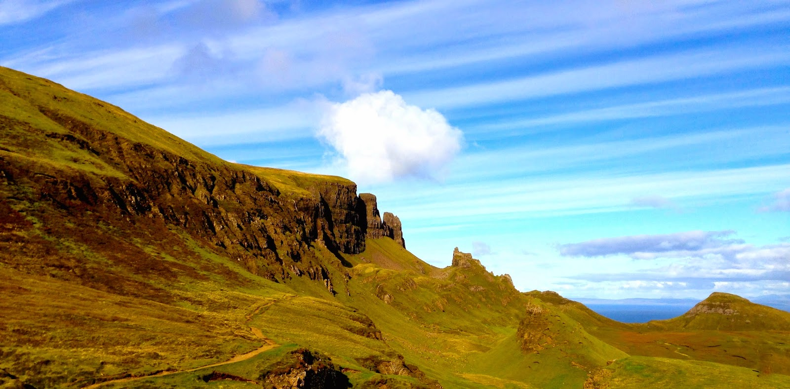 Quiraing; Trotternish Peninsula, Isle of Skye, Scotland