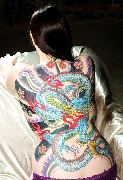 54 Tatuajes De Dragones Orientales Su Significado Y Diseños
