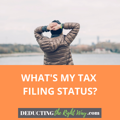 How To Choose Tax Filing Status | www.deductingtherightway.com