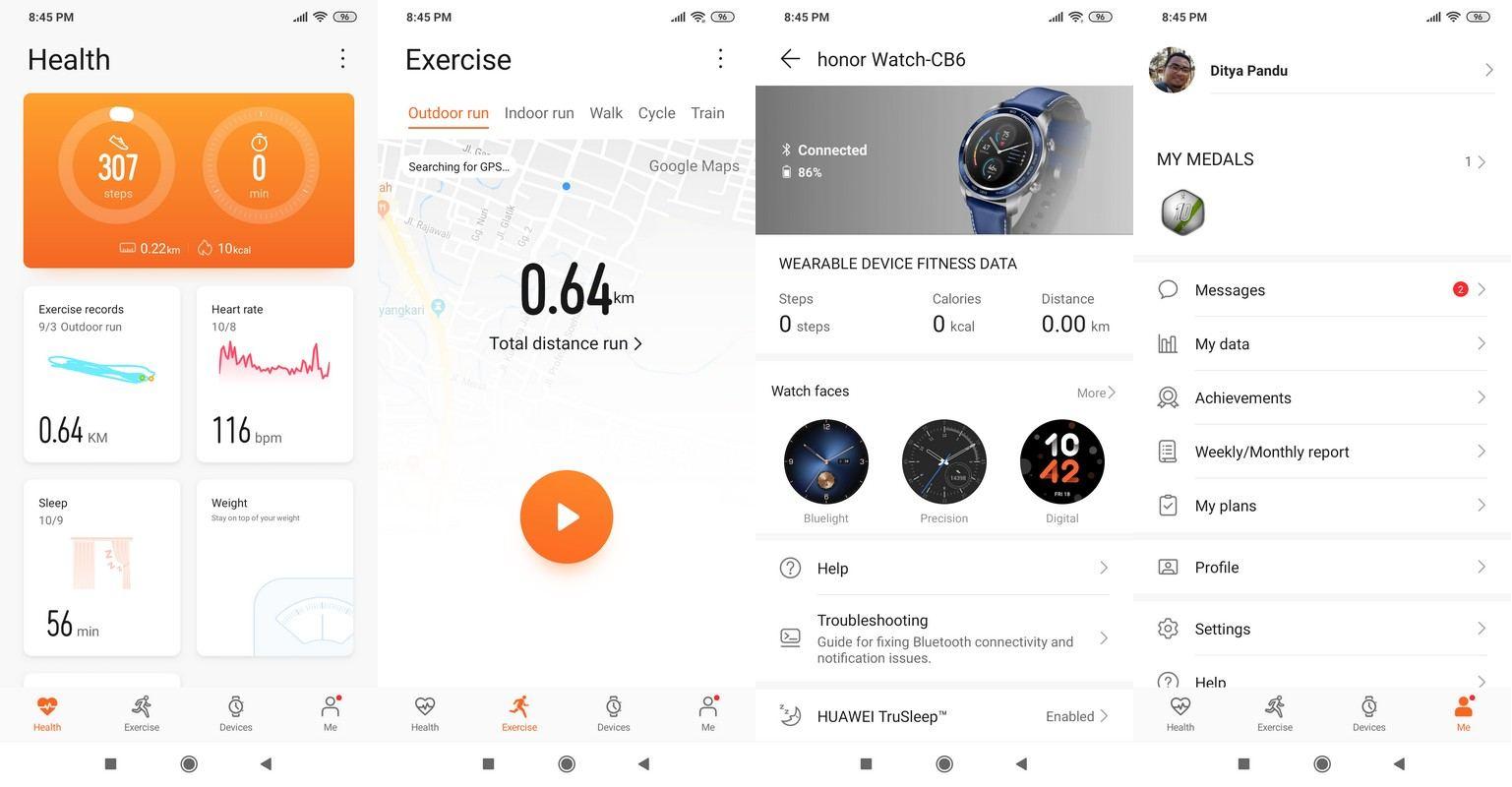 Aplikasi Huawei Health