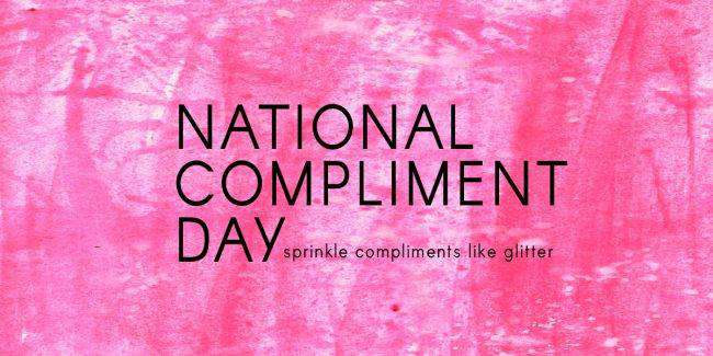 National Compliment Day Wishes Unique Image