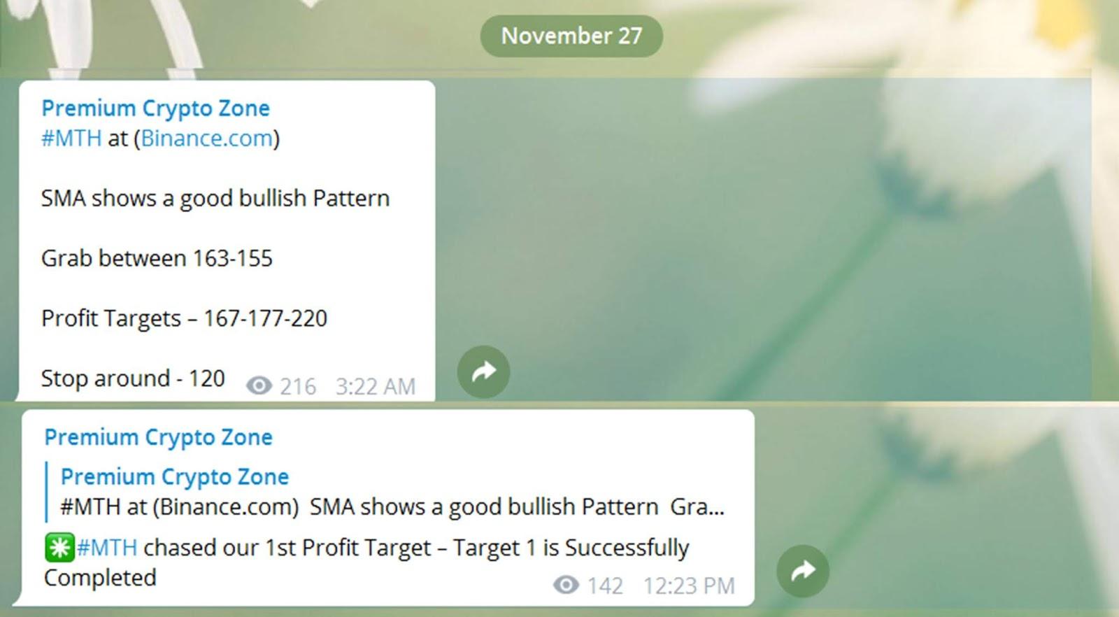 profit binance app
