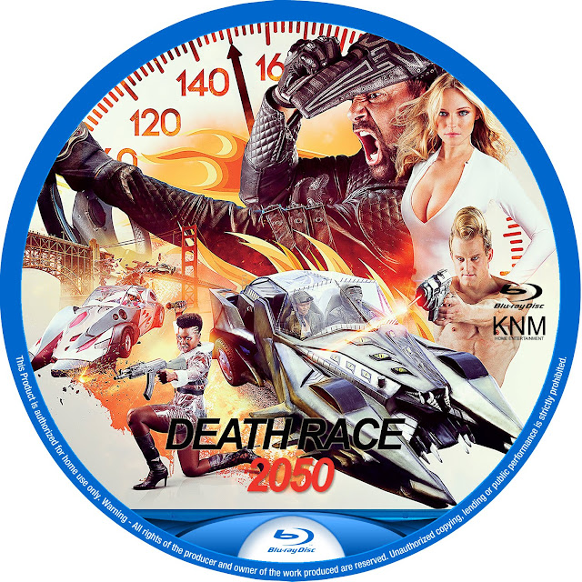 Death Race 2050 Bluray Label