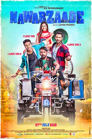 Nawabzaade 2018 Bollywood 300MB Hindi Movie WEBDL 480p