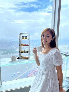 Sky100 靚景高空下午茶