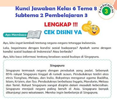 Kunci Jawaban Kelas 6 Tema 8 Subtema 2 Pembelajaran 3 www.simplenews.me