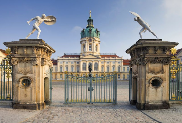 Entrada do Palácio de Charlottenburg