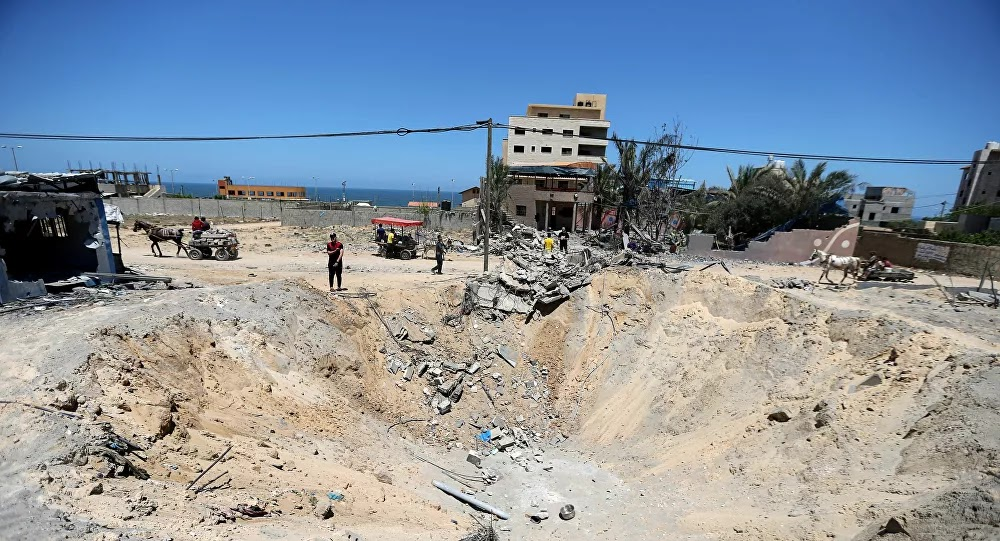 وفد هندسي مصري يزور قطاع غزة لدراسة طرق إزالة ركام القصف الإسرائيلي