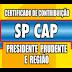 SP CAP - Resultado de domingo dia 08/04/2018
