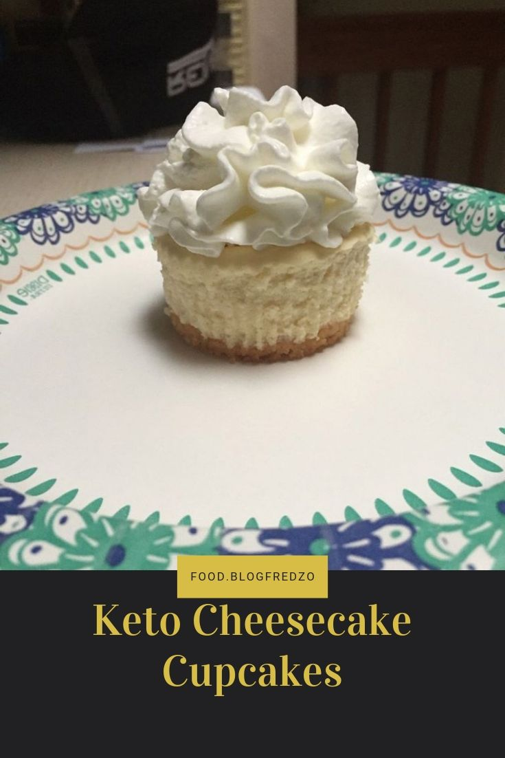 Keto Cheesecake Cupcakes-Traditionally in my circle of friends if you have a birthday I will make you a dessert of your choosing. This is the first birthday