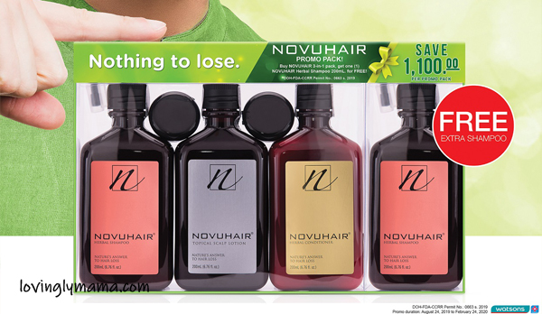 natural hair loss prevention - natural hair care products - Novuhair- essential oils - Bacolod mommy blogger - hair fall - promote hair growth - Novuhair promo - Fanny Serrano - celebrity hairstylist