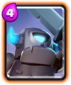 Carta da Mini P.E.K.K.A de Clash Royale