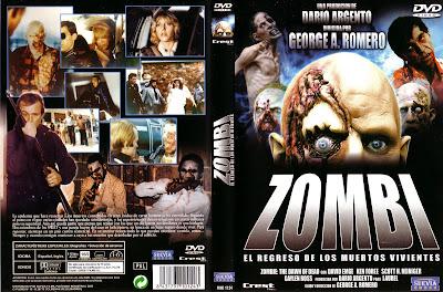 Carátula dvd: Zombie, el amanecer de los muertos vivientes (1978)