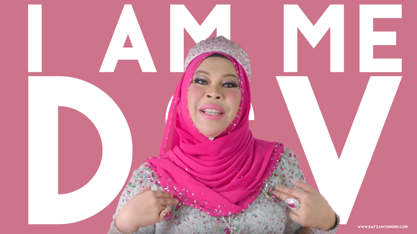Lirik Lagu I Am Me Dsv Dato Seri Vida Rafzan Tomomi