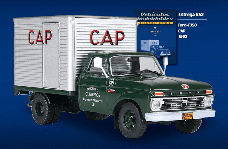 Ford F-350 Pick up Frigorífico CAP cuatreros