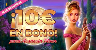 Paston 10 euros gratis slot Assassin Moon 1-6 diciembre 2020