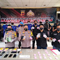 Polisi Bongkar Sindikat Narkoba di Karawang, 1,3 Kilogram Sabu, Ribuan Pil Ekstasi dan Ganja Disita