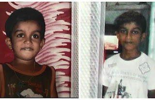 The death of the two children died falling into a pit of Negombo