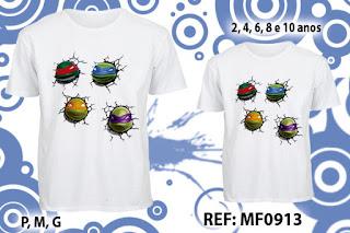 Tal Pai Tal Filho Camisetas Personalizadas tartarugas
