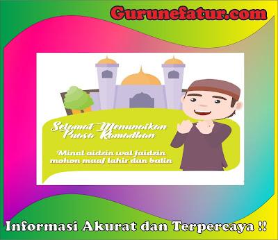 Ucapan Spesial DiBulan Ramadhan 1442 H Format PPT