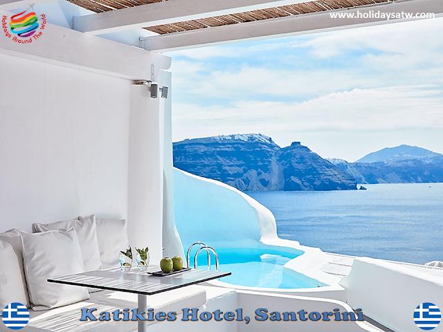 Recommended honeymoon hotels in Santorini