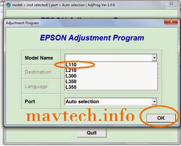 How to Reset Epson L110 Printer | MavTech
