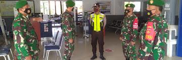 Cegah Covid-19, TNI Kodim Pekalongan Lakukan Patroli di Sejumlah Tempat Wisata dan Fasilitas Umum