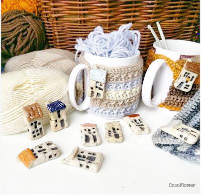 couvre tasse thé au crochet par cocoflower - www.cocoflower.net