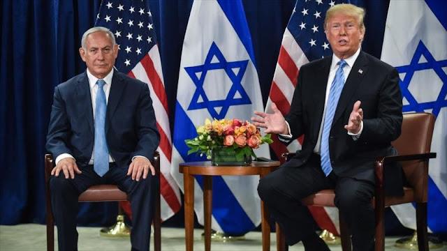 Trump admite que EEUU permanecerá en Oriente Medio por Israel