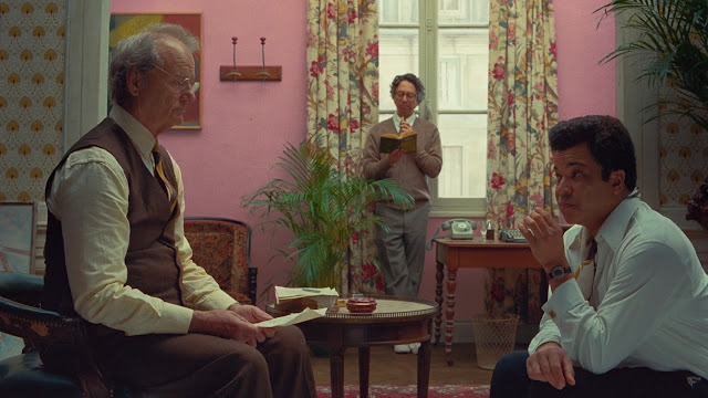 Bill Murrary Jeffrey Wright Wes Anderson | The French Dispatch of the Liberty, Kansas Evening Sun