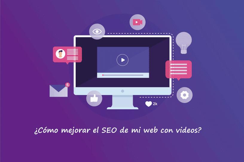 SEO con videos en web con licencia Adobe Stock
