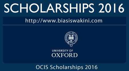 Oxford Centre For Islamic Studies Scholarships 2016