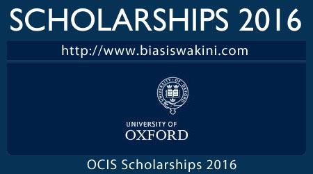 Oxford Centre For Islamic Studies Scholarships 2016