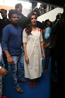 Samantha Ruth Prabhu Smiling Beauty in White Dress Launches VCare Clinic 15 June 2017 099.JPG