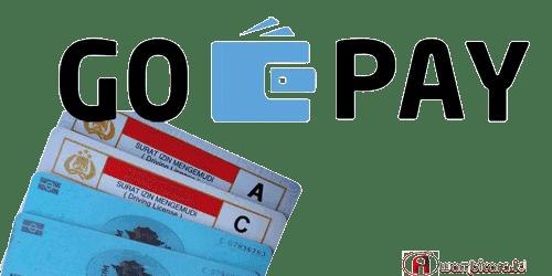 bayar sim baru dan perpanjangan sim dengan gopay